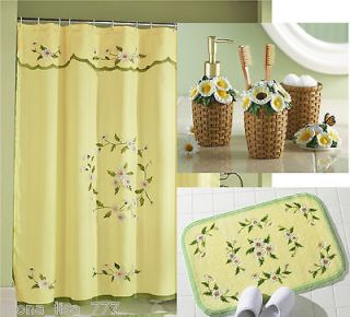 Bathroom Sets Shower Curtain Rugs. Ncaa West Virginia Bathroom Set ...