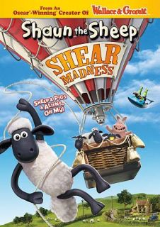 Newly listed Shaun the Sheep Shear Madness (DVD, 2012)