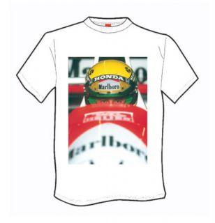 Ayrton Senna F1 Legend Great New T Shirt