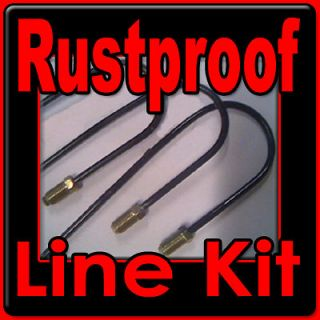 Rustproof Brake line kit for Jeep or AMC 1946 1947 1948 1949 1950 1951