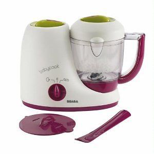 Steamer Defroster Reheater NEW Maker Machine Baby Food Processor Puree