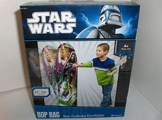 Star Wars~Clone Wars42 Inches Tall Inflatable Bop Bag,Ages 4+,OnSale
