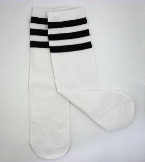 Baby Toddler Boy Girl Leg Warmers Leggings Tube Socks,Black Stripes