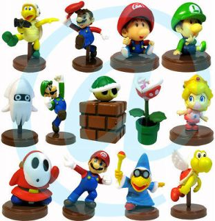 Nintendo Super Mario Baby Luigi Peach Koopa Shell Shy Guy 13 Figures