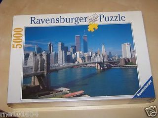 Ravensburger New York 5000 Piece Puzzle Hard to Find New Twin Towers