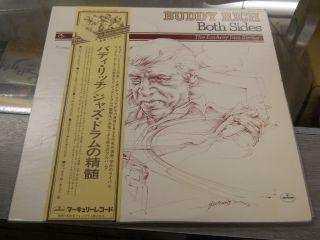 BUDDY RICH   BOTH SIDES   JAPAN LP/W obi BT 5123.24