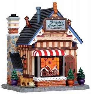 christmas Village Collection bridgettes gingerbread bakery house store