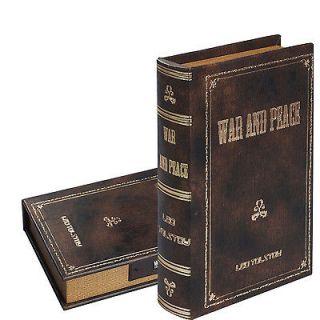 New Hollow Book Safe w/Combination Lock Diversion Secret Stash Hidden