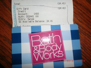 bath & body gift card in Gift Cards