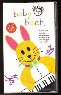 BABY EINSTEIN   BABY BACH   MUSICAL EXPERIENCES   AGES 1 36 MONTHS