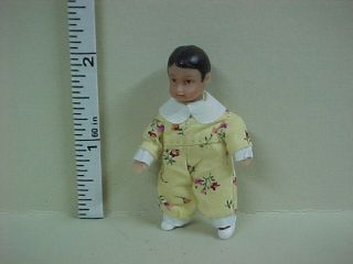 Joey  Hispanic Baby Dollhouse Doll   #SD018 Dollhouse Miniatures