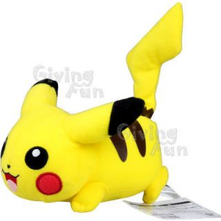 NEW GENUINE BANPRESTO Pokemon Pikachu 5 Japan Plush Figure Doll Toy