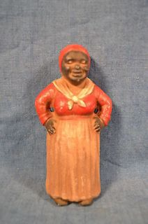 BLACK AMERICANA REPRO CAST IRON BANK MAMMY