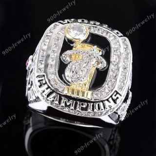 Heats LeBron James NBA Basketball Championship Replica Ring #11 + Box
