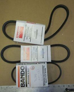 New V Belts For Doall Machine Vertical Band Saw Dayton Bando
