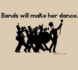 Bands make her dance lyrics juicy