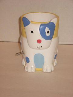 Jenny Jeff Faw Best Friends Dog White 4 Bathroom Tumbler Flaw