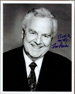 Newly listed Don Pardo Signed Card 334    Saturday Night Live