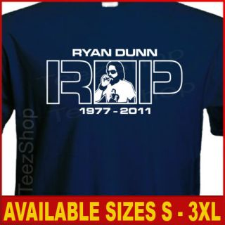 RIP Ryan Dunn JACKASS La Bam CKY random hero T shirt
