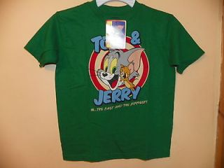 TOM & JERRY/THE FAST & THE FURRIEST BOYS SIZE 6x LICENSED SHORT