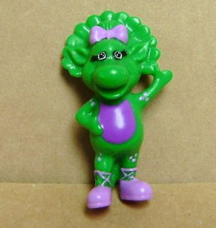 1993 Baby Bop Lyons Group Unique 3 Figure Barney Cake Tooper