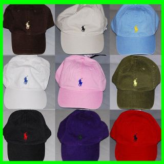 Lauren Ball Cap Hat Mens Pony Logo Baseball Caps Hats One Size P003