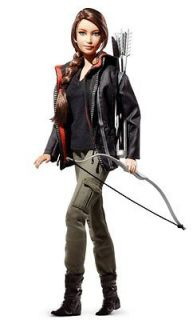 HUNGER GAMES Katniss Everdeen Barbie Doll NRFB