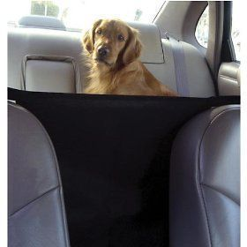 Pet SUV Barrier Block Dog Access To Auto Car Front Seat & Keep Dogs In