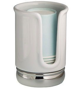 York Vanity Paper Cup Dispenser Bathroom Vanity Organizer