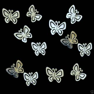 Butterfly Butterflies Girls Kid Room Adhesive Peel Sticker Mirrors