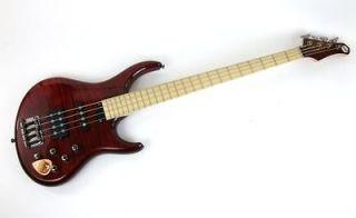 MTD Michael Tobias Design Kingston Heir Bass Guitar Cherry