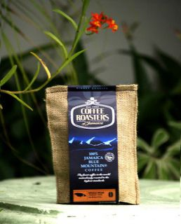 BLUE MOUNTAIN Coffee 100% Roasters of Jamaica 2x4oz Whole beans