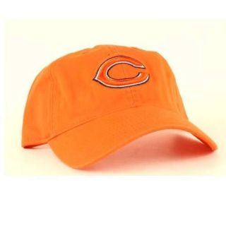 BEARS Logo New ORANGE Cap Low profile relaxed fit hat NFLTeam Apparel
