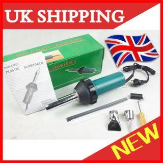 Brand New Max 1080W Plastic Welding Gun/Welder+2x Nozzles+1x Roller