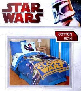 Star Wars Comforter twin size Original Licensed Clone bedding cotton