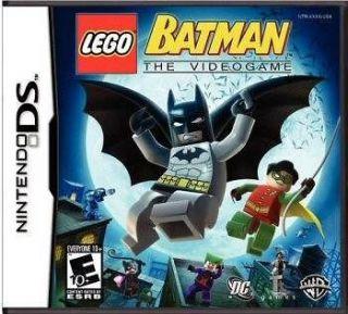 LEGO Batman robin superhero marvel DS/Lite/DSi/XL /3DS NEW