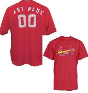 St. Louis Cardinals CUSTOMIZED Jersey MLB Official Personalized Custom