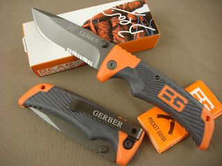 Gerber Bear Grylls Ultimate Outdoor Camping Hunting Folding Knife 126f