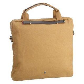 Ben Sherman Sail Canvas Flight Bag   Mustard Brown   MH00088 55
