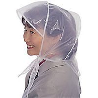 ANDRE #900 RAIN GLORY RAIN BONNET W/VISOR_ WHITE