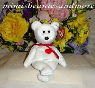 TY Beanie Baby VALENTINO A LOVE BEAR MWMT*