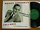 Benny Goodman   Session For Sextet   Columbia   33S1048 (10 LP)