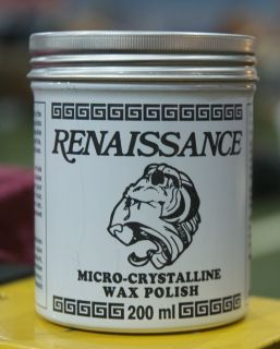 Renaissance Wax Polish Jewelry Antiques Wood Metal 7oz 200mL FREE FAST