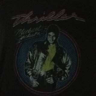 Vintage Reproduction Of Michael Jacksons Thriller Shirt From This Is