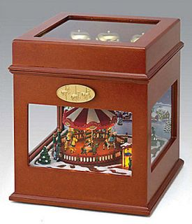 MR. CHRISTMAS GOLD LABEL SYMPHONY OF BELLS Animated Music Box 50 SONGS