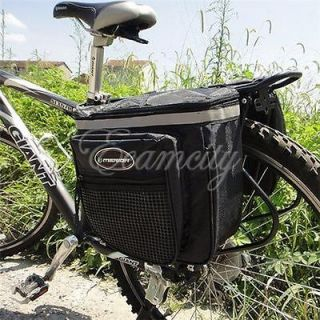 28L Bicycle Cycling Bike Big Rear Seat Tail Bag Pannier Outdoor