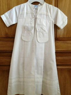 NWT Willbeth Baby, Infant, White Christening Baptism Gown Robe w