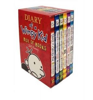 Diary of a Wimpy Kid 6 Book Box   BRAND NEW BOXED SET