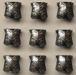 Newly listed x9 NEW Lego Castle Minifig Armor Breastplate Kingdoms