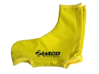 Zimco Lycra Cycling Shoe Cover Overshoes Lycra Booties Yellow with